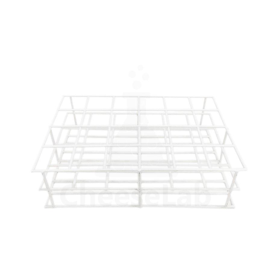 Estante-de-PVC-para-24-Frascos-de-Coleta-3cmØx8cm