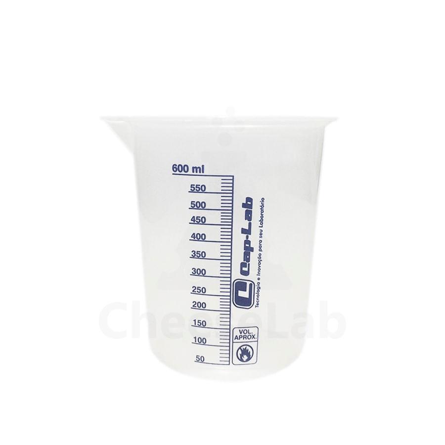Copo-Becker-Plastico-Cap-Lab-600mL