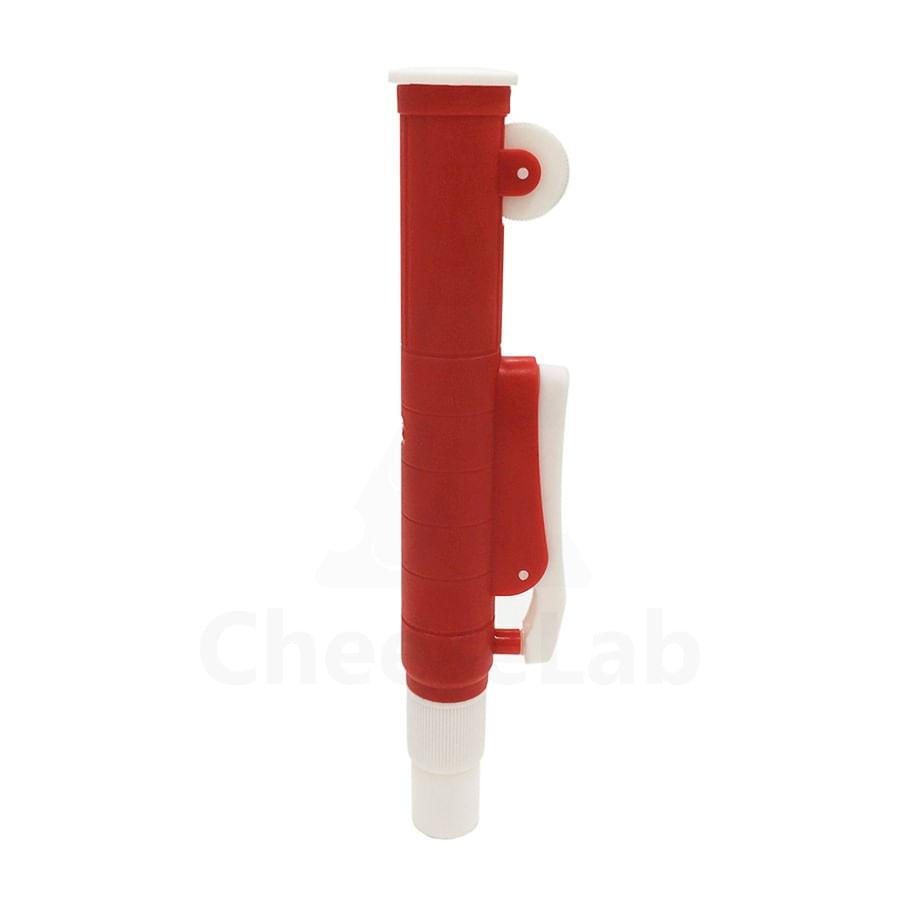 Pipetador Manual Pi-Pump 25mL Vermelho