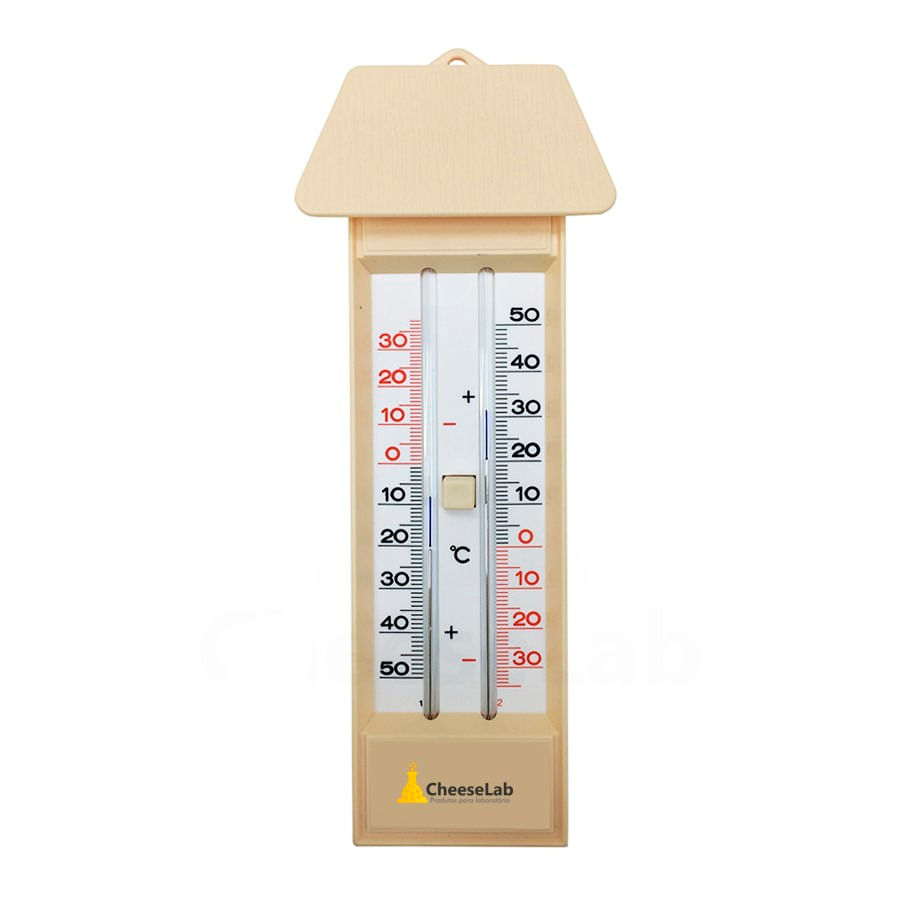 Termômetro Analógico para Máxima e Mínima