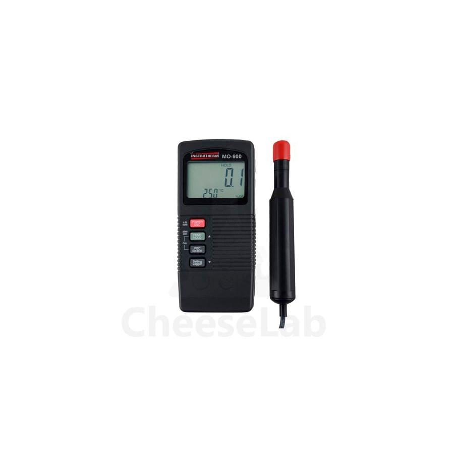 Medidor de Oxigênio Dissolvido Digital Portátil MO-900 com Datalogger e RS-232