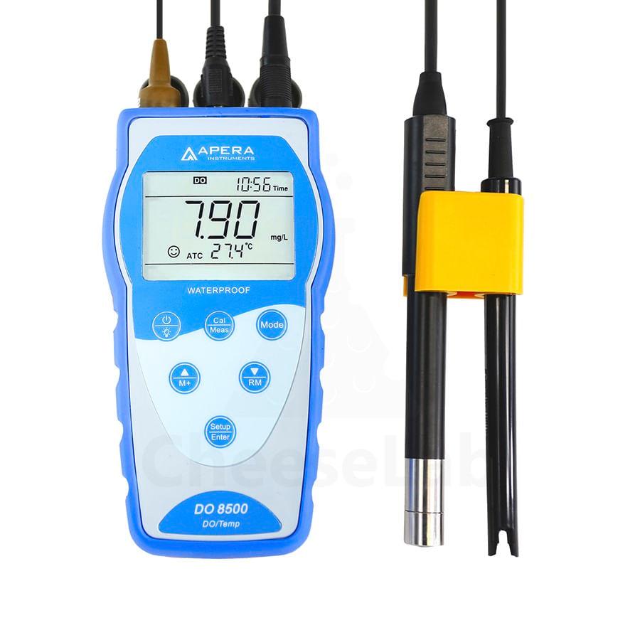Medidor de Oxigênio Dissolvido Ótico Portátil 0-20,00 mg/l PPM, 0-200,0% DO8500